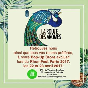 pop up store annonce 2017