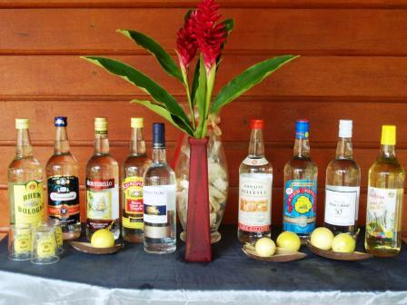 bouteilles rhum guadeloupe
