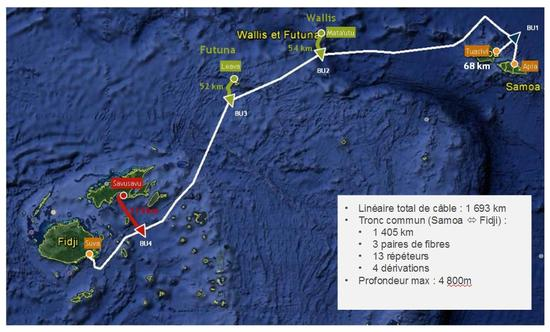 Trace du systeme cable sous marin imagelarge