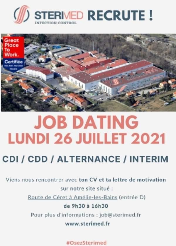 STERIMED recrute sur Amélie-les-Bains-Palalda