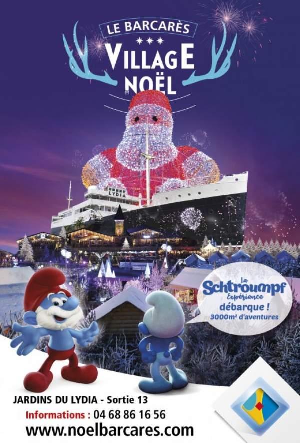 Le Village de Noel-Le Barcarès- 27 novembre au 12 janvier 2020