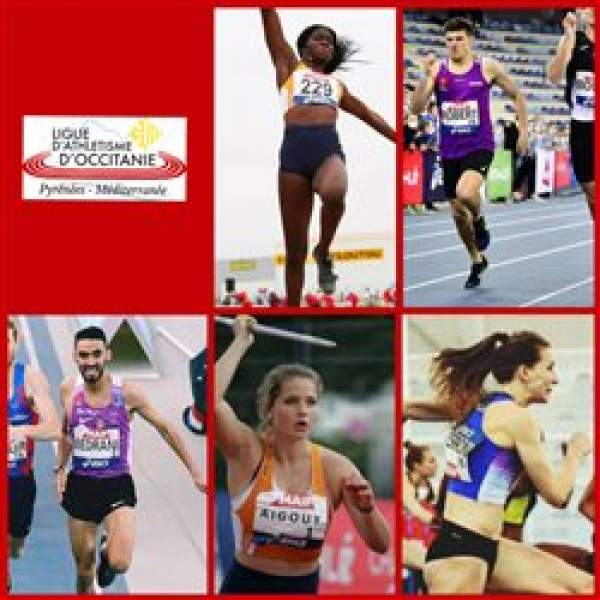 Championnat de France Athlétisme en salle-Miramas-19/20/21 février-les médaillés élite de la ligue d