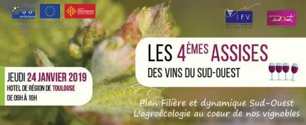 4ème assises des vins du sud-ouest-Toulouse-24 janvier 2019