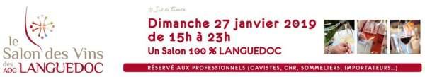 Salon des vins AOC du Languedoc-Lattes-27 janvier 2019
