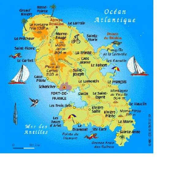 Sébastien Lecornu annonce le soutien financier du ministère des Outre-mer  à 10 projets locaux en Martinique pour près de 5 millions d'euros