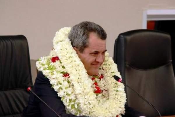 Edouard Fritch réélu président de la Polynésie française