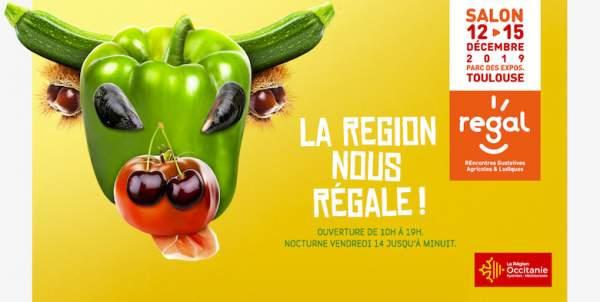 Salon Régal-Toulouse-12 au 15 décembre 2019