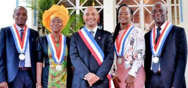 Conseil territorial de Saint Martin-2017-les élus.