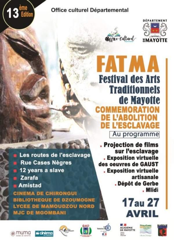 FATMA  Festival des arts traditionnels de Mayotte- 17 au 27 avril 2021