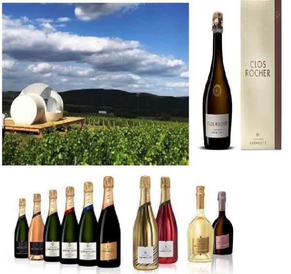 Le champagne Gremillet prêt pour les fêtes de fin d