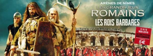 Les Grands Jeux Romains-Nîmes-3 au 5 mai 2019
