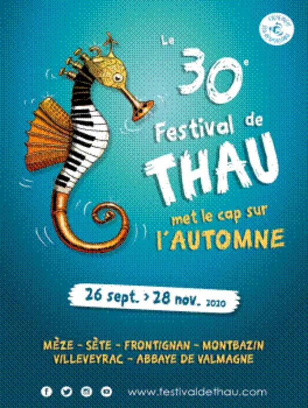 Festival de Thau-26 septembre au 28 novembre 2020