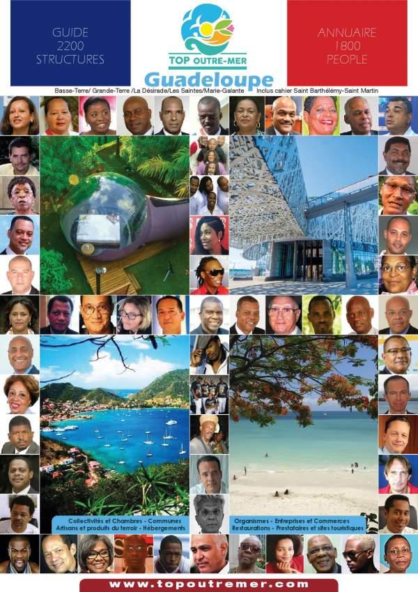 Les 32 maires de Guadeloupe élu(e)s en 2020
