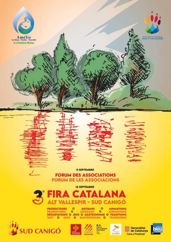 FIRA CATALANA-alt Vallespir-sud Canigo 12 septembre -forum des associations-11 septembre Amélie-les-Bains