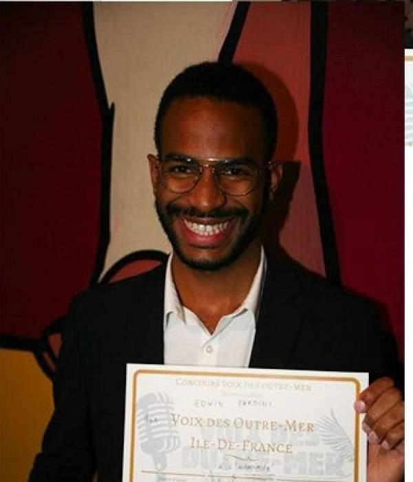 Prix Voix des Outre-mer : Edwin Fardini -Prix Jeune Talent : Auguste Truel