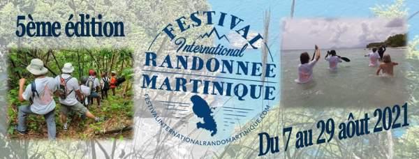 Festival international randonnées Martinique 7 au 29 aout 2021