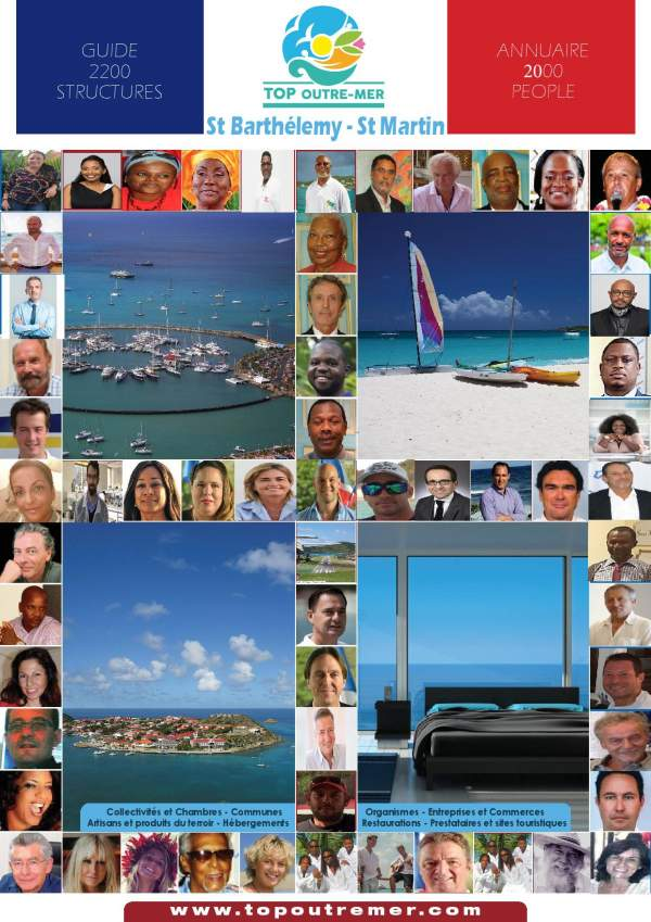 Top Outre-mer 2012 et inscription Top Outre-mer 2017 St Barth-St Martin