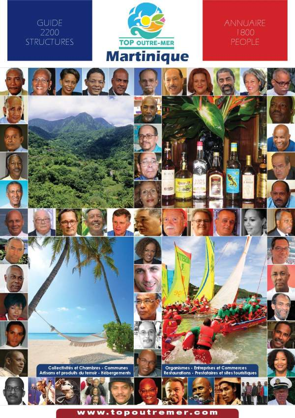 Les 34 maires de Martinique élu(e)s en 2020