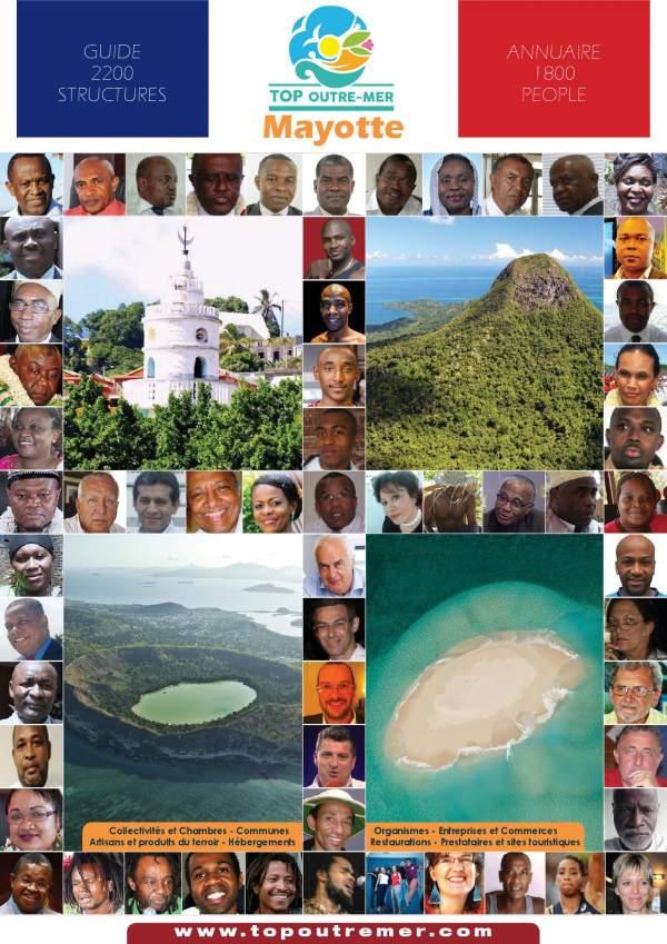 Les 17 maires de Mayotte élus en 2020