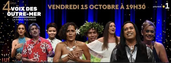 Finale territoriale Polynésie des voix des Outre-mer 15 octobre 2021