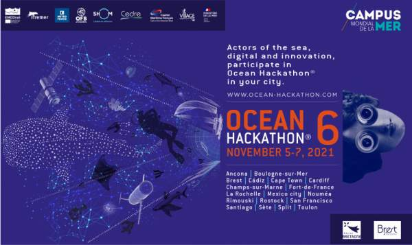 Ocean Hackathon:  inscriptions jusqu