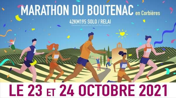 Marathon du Boutenac en Corbières 24 octobre 2021