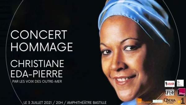 Concert Voix des Outre-mer hommage à Madame Christiane Eda-Pierre -Paris- 3 juillet 2021