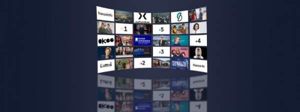 France Télévisions leader des médias français en avril 2021
