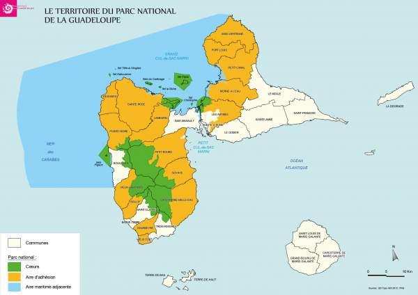 Adhésion à la Charte du Parc national des communes de Bouillante et Trois Rivières