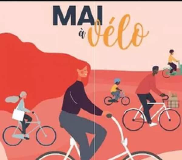 Mai à vélo : un mois et plus pour fêter et adopter le vélo !