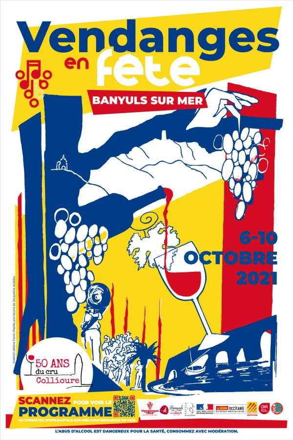 Vendanges en fête-Banyuls-sur-Mer 6 au 10 octobre 2021