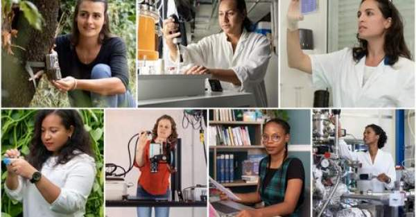 Le Prix Jeunes Talents Pour les Femmes et la Science France 2021:7 chercheuses d