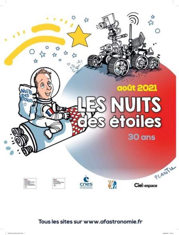 30ÈME ÉDITION DE LA NUIT DES ÉTOILES, VENDREDI 6 AOÛT Toulouse Cité de l