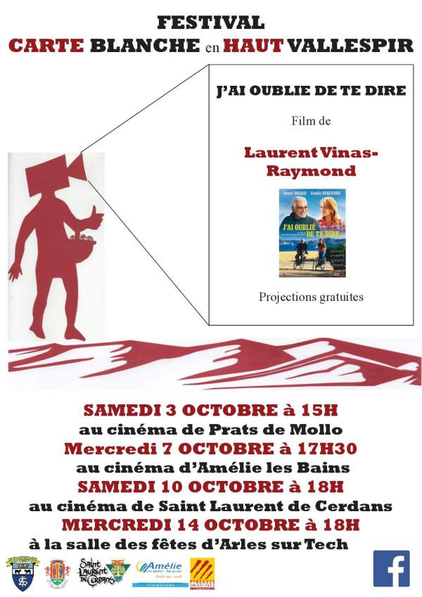 Cinéma:Carte blanche en Vallespir-programme octobre 2020