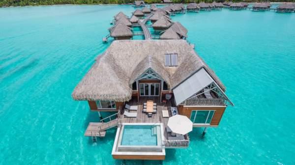 Quatre hôtels de Polynésie dans le classement du Forbes Travel Guide