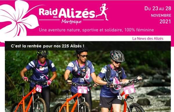 RAID DES ALIZÉS MARTINIQUE 23 au 28 novembre 2021......avec Laurent Jalabert comme coach!