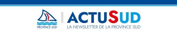 Newsletter Province Sud 11 octobre 2021