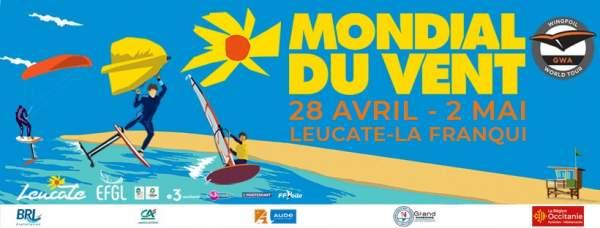 Mondial du vent Leucate la Franqui-28 avril au 2 mai 2021