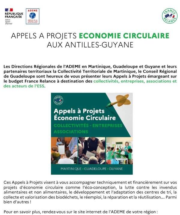 [ ECONOMIE CIRCULAIRE ] #Collectivités, #Entreprises, #Associations et acteurs de l'ESS, vous avez un projet en lien avec l'Economie Circulaire ♻️ ?