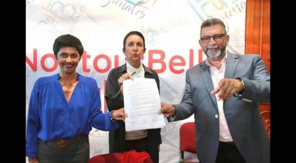 Élections régionales Île de la Réunion  2ème tour: Huguette Bello présidera la Région Réunion Elle l