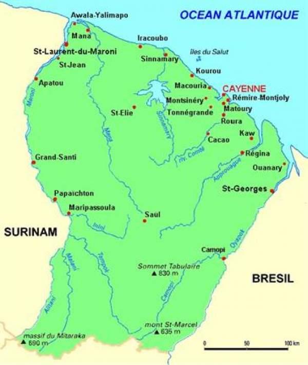 Sébastien Lecornu annonce le soutien financier du ministère des Outre-mer  à 5 projets locaux en Guyane pour plus de 8 millions d'euros